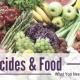 واژه نامه مانده آفت کش ها در مواد غذایی