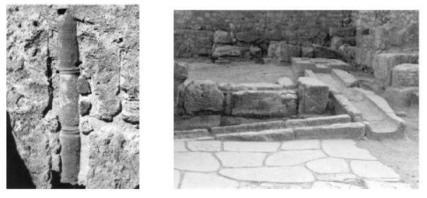 نمونه هایی از بقایای کانال های فاضلابرو و آب باران در تمدن های قدیمی
