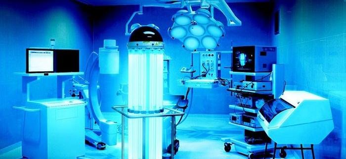 استفاده از اشعه ماورابنفش در محیط های بیمارستانی