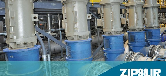 کاربرد موتور تلمبه در تأسیسات آب و فاضلاب
