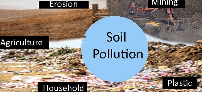 آلودگی خاک و روش های تصفیه