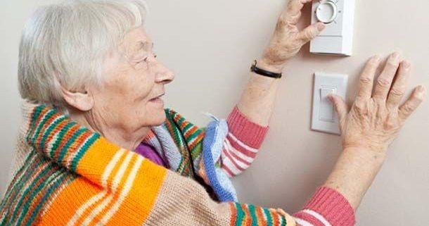سرمایش و گرمایش در سالمندان