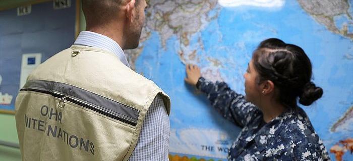 سازمان های داخلی و بین المللی در بلایا